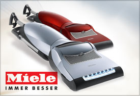 Miele Vaccuums at Abbott's Vacuum Center in Nampa, Idaho: Made in Germany