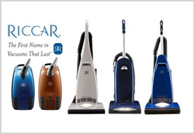 Riccar Vaccuums at Abbott's Vacuum Center in Nampa,Idaho: Made in the USA