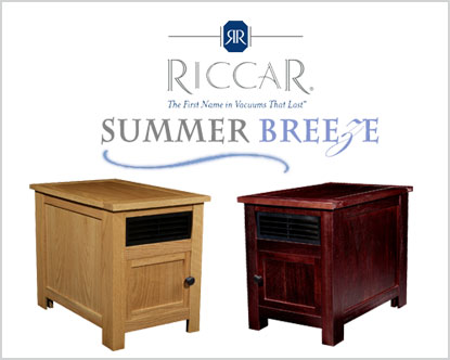 Riccar Summer Breeze Zone Heaters available at Abbott's Vacuum Center in Nampa, Idaho